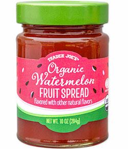 Trader Joe's Organic Watermelon Fruit Spread