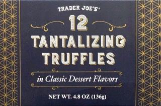Trader Joe's 12 Tantalizing Truffles