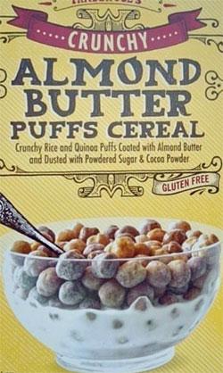 Trader Joe's Almond Butter Puffs Cereal