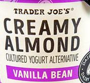 Trader Joe's Creamy Almond Vanilla Bean Cultured Yogurt Alternative