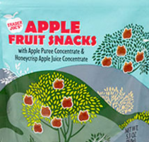 Trader Joe's Apple Fruit Snacks