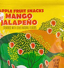 Trader Joe's Apple Fruit Snacks Mango Jalapeño