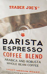 Trader Joe's Barista Espresso Coffee Blend