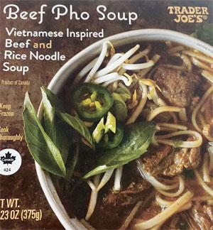 Trader Joe's Beef Pho Soup