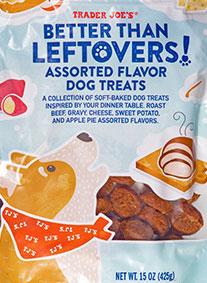 Trader Joe's Better Than Leftovers Dog Treats