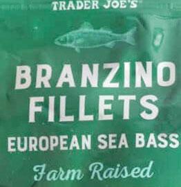 Trader Joe's Branzino Fillets European Sea Bass