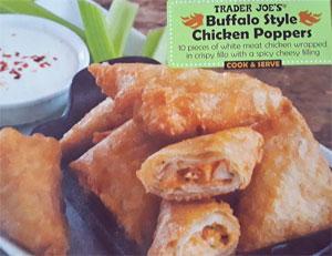Trader Joe's Buffalo Chicken Poppers