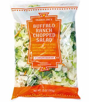 Trader Joe's Buffalo Ranch Chopped Salad