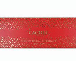Cachet Premium Belgian Chocolate Assortment