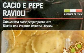 Trader Joe's Cacio e Pepe Ravioli