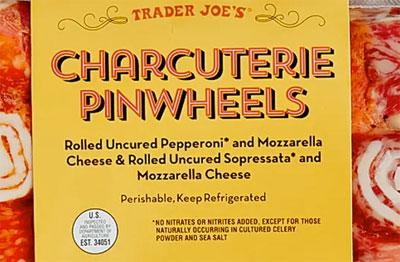 Trader Joe's Charcuterie Pinwheels