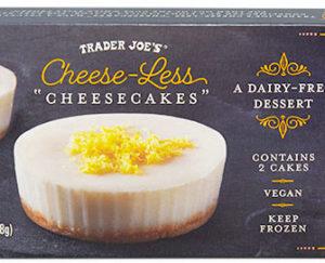 """Trader Joe's Cheese-Less """"Cheesecakes"""""""