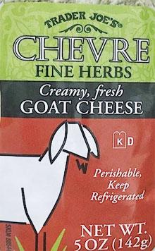 Trader Joe's Chevre With Fine Herbs
