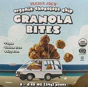 Trader Joe's Organic Chocolate Chip Granola Bites