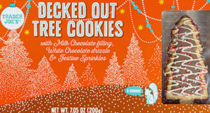 Trader Joe's Decked Out Tree Cookies