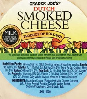 Trader Joe's Dutch Smoked Cheese