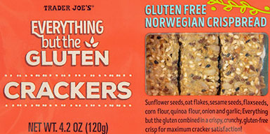 Trader Joe's Everything but the Gluten Crackers Reviews