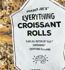 Trader Joe's Everything Croissant Rolls