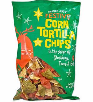 Trader Joe's Festive Corn Tortilla Chips
