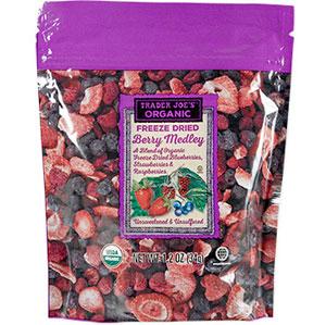 Trader Joe's Organic Freeze Dried Berry Medley