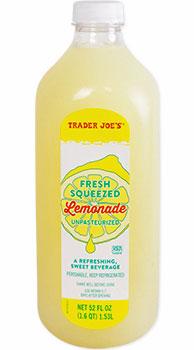 Trader Joe's Fresh Squeezed Lemonade