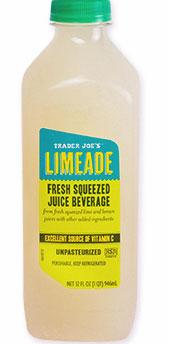 Trader Joe's Fresh Squeezed Limeade