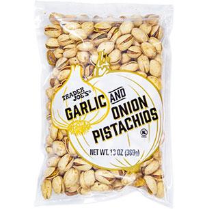 Trader Joe's Garlic & Onion Pistachios
