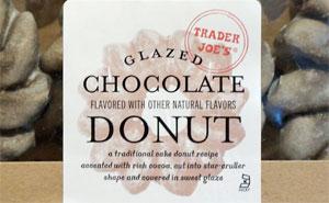 Trader Joe's Glazed Chocolate Donuts