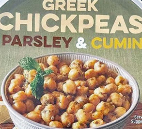 Trader Joe's Greek Chickpeas