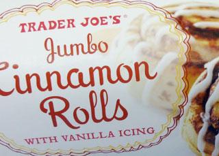 Trader Joe's Jumbo Cinnamon Rolls