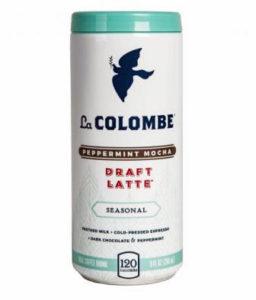 La COLOMBE Peppermint Mocha Draft Latte