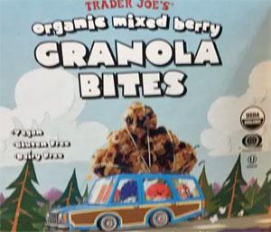 Trader Joe's Organic Mixed Berry Granola Bites
