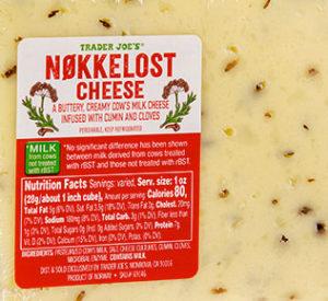 Trader Joe's Nøkkelost Cheese