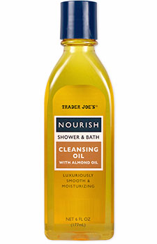 Trader Joe's Nourish Shower & Bath Cleansing Oil with Almond Oil