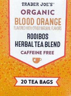 Trader Joe's Organic Blood Orange Rooibos Herbal Tea Blend