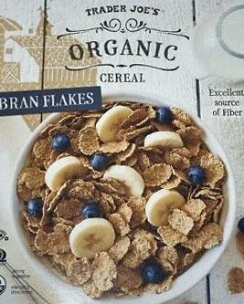Trader Joe's Organic Bran Flakes Cereal