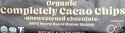 Trader Joe's Organic Completely Cacao Chips Reviews