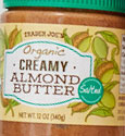 Trader Joe's Organic Creamy Salted Almond Butter Reviews