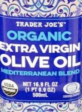 Trader Joe's Organic Extra Virgin Olive Oil Mediterranean Blend
