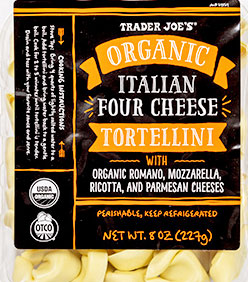 Trader Joe's Organic Italian Four Cheese Tortellini
