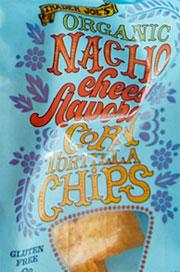Trader Joe's Organic Nacho Cheese Tortilla Chips