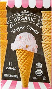Trader Joe's Organic Sugar Cones