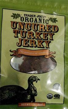 Trader Joe's Organic Uncured Turkey Jerky