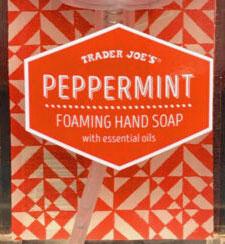Trader Joe's Peppermint Foaming Hand Soap