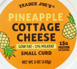 Trader Joe's Pineapple Cottage Cheese