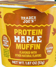 Trader Joe's Protein Maple Muffin
