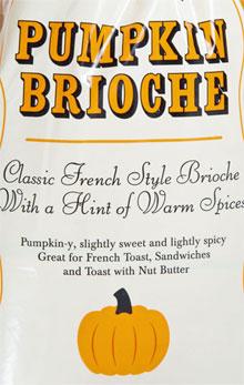 Trader Joe's Pumpkin Brioche
