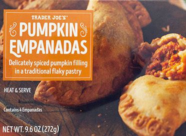 Trader Joe's Pumpkin Empanadas