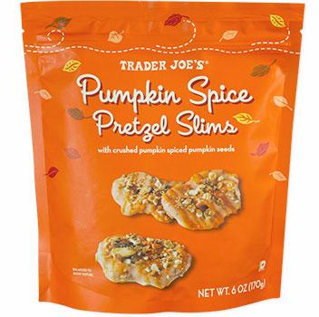 Trader Joe's Pumpkin Spice Pretzel Slims Reviews
