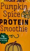 Trader Joe's Pumpkin Spice Protein Smoothie
